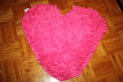 Pink Heart, Red Heart Rugs (new) from Target in Ramstein, Germany