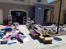 Still have lots of stuff left in Fort Bliss, Texas