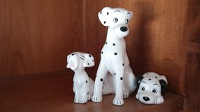 101 dalmation glass firgures in Lockport, Illinois