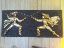 The Muskateers wall hanging in Sugar Grove, Illinois