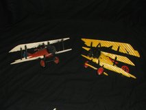 Vintage WWI Cast Aluminum Fighter Planes Sexton Homco in Naperville, Illinois