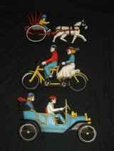 Vintage Horse & Buggy Bike for 2 Auto Wall Decor in Naperville, Illinois