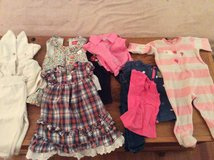12 months brand name clothes Lot. Can be sold separately in Ramstein, Germany