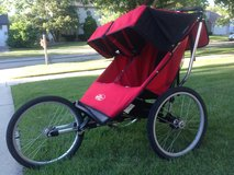 Double Baby Jogger with Rain Cover in Plainfield, Illinois