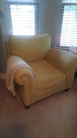 Arm chair upolstered in Kingwood, Texas