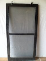 Black Solid Wood Framed Screens in Tinley Park, Illinois