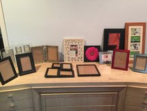 Assorted frames in Fort Campbell, Kentucky