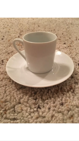 Espresso cup and saucer in Alamogordo, New Mexico