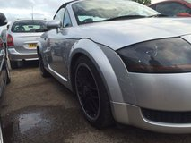 AUDI TT convertible in Lakenheath, UK