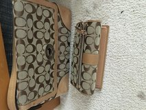 Coach purse and matching wallet in Glendale Heights, Illinois