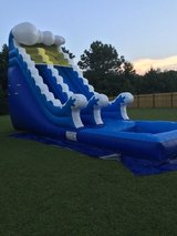Water slide and bounce house and face painting in Camp Lejeune, North Carolina