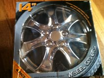 wheel covers 14 inch chrome 4 pack in Orland Park, Illinois