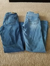 Lot of 2 girl juniors jeans size 4S short Aeropastale in Naperville, Illinois