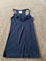 Girl juniors blue tank top Gilly Hicks size small in Bolingbrook, Illinois