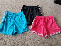 Lot of 3 girl athletic shorts size xl 14 16 Nike in Naperville, Illinois