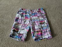 Girl plaid shorts size 16 old navy in Naperville, Illinois