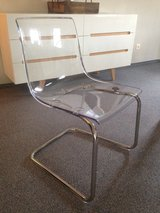 Acrylic chair with chrome in Ansbach, Germany
