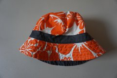 Boys Carters Orange Floral Sun Hat Size 2T-4T in Chicago, Illinois