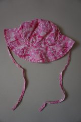 Girls Wee Wave Pink Floral Infant Sun Hat Size 13-22 lbs in Naperville, Illinois