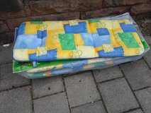 set of 4 outdoor chair cushions with bag in Ramstein, Germany