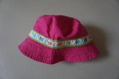 Girls Carters Pink Butterfly Sun Hat Size 2T-4T in Naperville, Illinois
