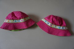 Girls Carters Pink Butterfly Sun Hat Size 4-6x in Chicago, Illinois