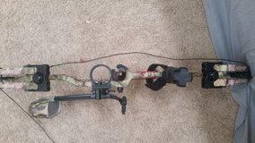 PSE 55 pound Bow with attachments in Fort Leonard Wood, Missouri