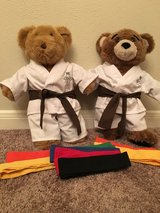 Build a Bear Karate Uniforms (2) in Kingwood, Texas