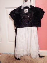 Girls dress and coat size 12 in Kingwood, Texas