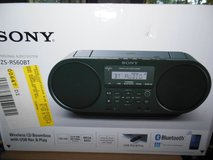 SonyWireless Boombox blue tooth Brand new in Algonquin, Illinois