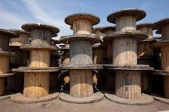 Wooden spools for tables chairs anything in Temecula, California