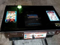 Donkey Kong JR. cocktail table arcade.   by Nintendo in Fort Lewis, Washington
