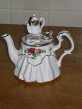 royal albert mini teapot-england in Batavia, Illinois