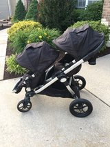 City Select Baby Jogger Double Stroller (Onyx) with Attachments!!! in O'Fallon, Missouri