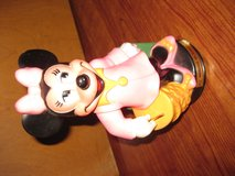 Walt Disney Productions plastic Minnie Mouse bank in Chicago, Illinois
