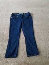 Juniors crop jeans size 7 SO like new in Naperville, Illinois
