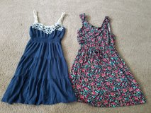2 juniors dresses size small in Naperville, Illinois