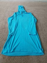 Girl blue cover up lands end size 16 in Naperville, Illinois