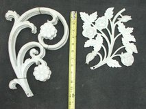 Decorative Cast Iron Flower Display Sections in St. Charles, Illinois
