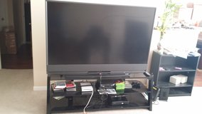 65 inch Mitsubishi TV 1080 P With Stand in Tomball, Texas