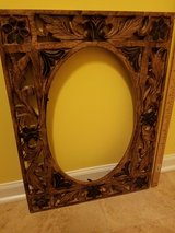 Wood handcrafted frame in Great Lakes, Illinois
