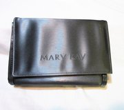 "NEW Mary Kay Gray Silver Cosmetic Make Up Bag Mirror 5 1/2"" x 7 1/2"" X 2"" in Kingwood, Texas"