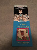 Morris Goes to School & Morris the Moose hard cover books in Camp Lejeune, North Carolina