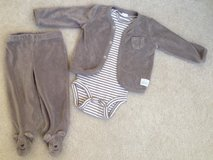 6 Month Carter's three piece outfit in Elgin, Illinois