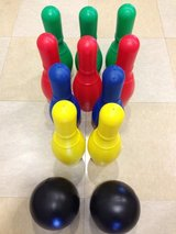 10 Pin Deluxe Bowling Game Set for Kids (Like New) in Okinawa, Japan