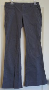 Old Navy Low-Rise Boot-Cut Gray Trousers in Lakenheath, UK