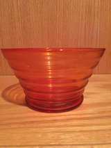 Orange Candy Dish Bowl Decor in Naperville, Illinois