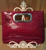Red Purse Handbag Clutch in Bolingbrook, Illinois