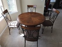 Ashley furniture - Table and 4 chairs excellent condition in Mobile, Alabama
