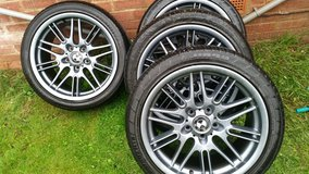 BMW ALLOY WHEELS AND TYRES in Lakenheath, UK